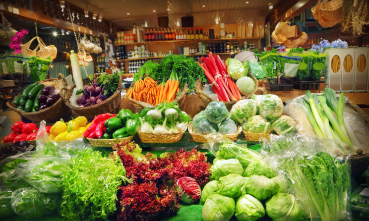 Mad og grøntsager